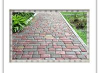 Pavement tile ♠ Тротуарная плитка / Плитка тротуарная вибро прессованная и вибро литая  http://aitash.com/trotuarnaya-plitka.html