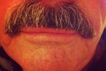 cuir cuir moustache