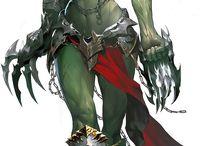 Female Art Orcs / Amazing orcs art