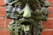 GreenMan / Hlava lesního muže