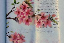 pintura em tecido / estêncil