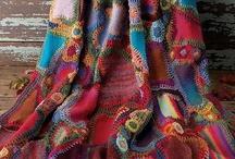 freeform knitting crochet