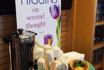 Tea with Kristan Higgins / Our event for Kristan Higgins when she came to sign On Second Thought was so much fun!