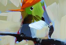 art - birds