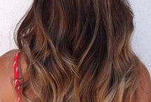 Модное окрашивание волос шатуш — На темные и светлые локоны.Омбре, шатуш, сомбре: что же выбрать?