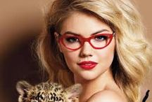 Red Frames / In theme with valentines - Red Frames & Sunglasses for a hot new look! #Glasses #Red #frames #fashion #optrafair