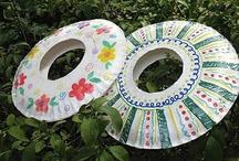 Paper plate art / by teaching artist