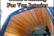 campervan paneling