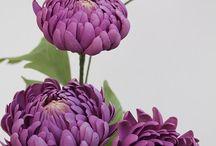 Cukortészta Virágok