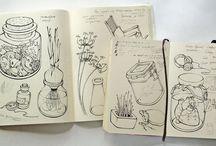 Sketcbook & doodles