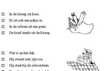 taal werkbladen sint