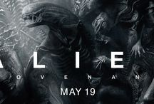 """Alien: Covenant / ALIEN: COVENANT, the second chapter in a prequel trilogy that began with PROMETHEUS -- and connects directly to Ridley Scott's 1979 seminal work of science fiction. Bound for a remote planet on the far side of the galaxy, the crew of the colony ship Covenant discovers what they think is an uncharted paradise, but is actually a dark, dangerous world -- whose sole inhabitant is the """"synthetic"""" David (Michael Fassbender), survivor of the doomed Prometheus expedition."""