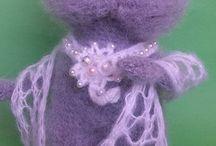 Amigurumi Doll Cat Toy crochet