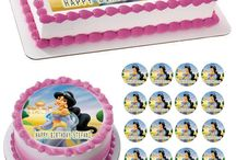 """My Shopify Store (EdiblePrintsOnCake.com) / Professional Edible Birthday Cake and Cupcake Toppers or Strips. Please don't forget to write your personalization text. It is sometimes better if you go to our web store (www.eibleprintsoncake.com). - We are very fast, you order an item today, we""""ll ship it tomorrow. You can read the reviews: https://www.edibleprintsoncake.com/pages/reviews"""