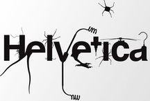Helvetica. con/sin