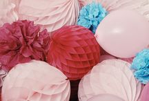 """think pink birthday party / """"candy land chic"""" birthday party inspiration in honor of lauren conrad's new book celebrate, out march 29th! / by LaurenConrad.com"""