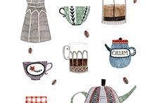 Ilustrações de coisinhas
