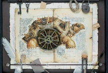 """Steampunk / This style has fascinated me ever since I read """"Airborn"""" By Kenneth Oppel. I love the Victorian age and Sci-fi. A combo - well that seriously rocks my boat! :-)"""