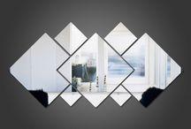 espelho decorados