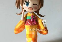 Kimono clay