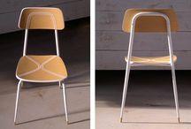 """Concita... la sedia cucita! / Concita è un concept. Con la collaborazione del designer Massimo Zaniboni, Realizzatori di idee hanno customizzato una vecchia sedia degli anni '60 con una particolare lavorazione ottenuta """"ricamando"""" il legno. Con questo progetto si sono aggiudicati il secondo posto al concorso di Design di Arezzo."""