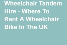 Making the most of wheelchairs