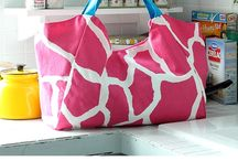 Beach tote and tote