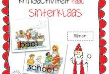 Sinterklaas rijmen