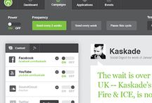 ~* Web Application Design *~ / Inspiration for web application design.