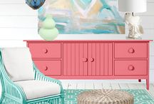 decorating / by Penny Webb