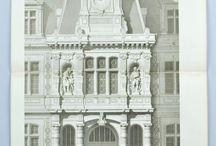 Фасады зданий рисунок