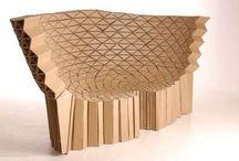 cardboard structure