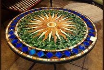 Mosaici e disegni