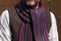 Easy Crochet Scarf Pattern Men Pinterest, Crochet Scarf Pattern, Colorful Crochet Men's Scarf, Easy Crochet, Winter Scarves for men