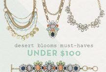 Lovely pieces for under $100 / https://www.chloeandisabel.com/boutique/leahstreasures