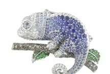 Animal Jewellery / Handmade animals made with diamonds and gemstones