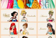 Disney Princess  / by Eleni Vlahopoulos