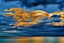 Sea Sky Sun Moon