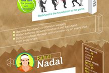 TENNIS Infographics / Everything about tennis in interesting infographics. Enjoy!