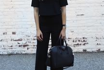 Outfits med wide pants