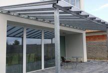 Steel shelter oceľový prístrešok