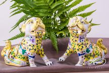 Protective Foo Dogs and Lions