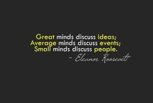 Quotes / Inspiration