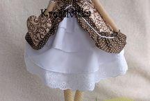 Handmade Kretivitka / Vitajte na mojej nástenke s mojimi výrobkami. Vyrábam šité hračky, srdiečka a predovšetkým anjeločky/bábiky (tildy) :)