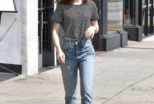 Lily Collins Otfits