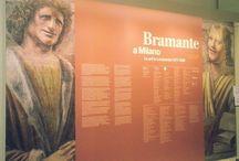Bramante a Milano /  A cinquecento anni dalla morte, la Pinacoteca di Brera celebra Donato Bramante. La mostra, nel tratteggiarne la poliedrica personalità ricostruisce il suo lungo soggiorno in Lombardia e a Milano (almeno dal 1477 fino al 1499) ed il fondamentale impatto della sua opera sugli artisti lombardi. Dal 4 dicembre al 22 marzo 2015.