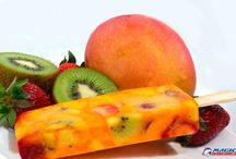 PALETA MEXICANA de frutas.