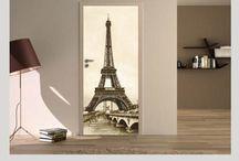 Naklejki na drzwi i inne dekoracje do domu