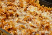 Grd beef casseroles / by Judy Ohlendorf