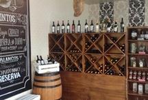 Wine display Gourmet displays